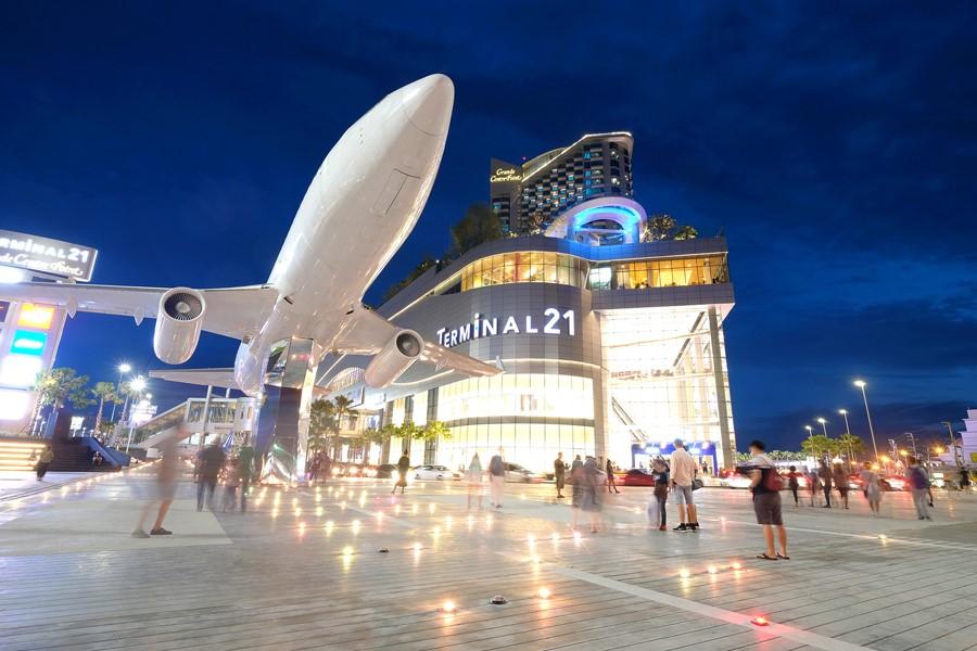 芭提雅21航站楼购物中心