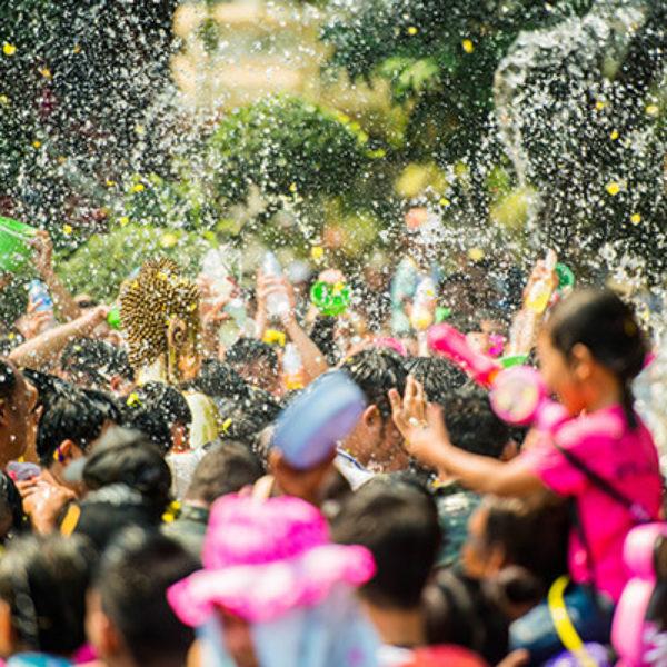 2021泰国泼水节,这样玩才尽兴